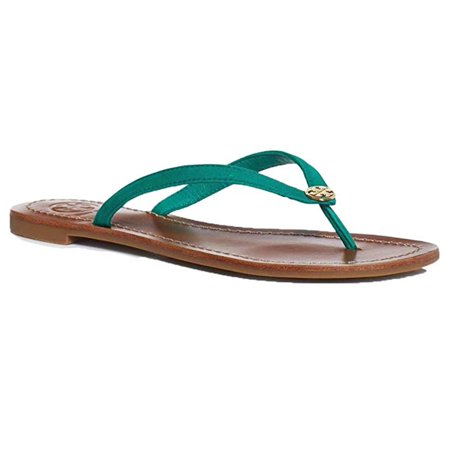 caf64b835 ... Flip Flops. Tory Burch Womens Terra Thong Leather Open Toe Casual -  image 1 of 2 ...