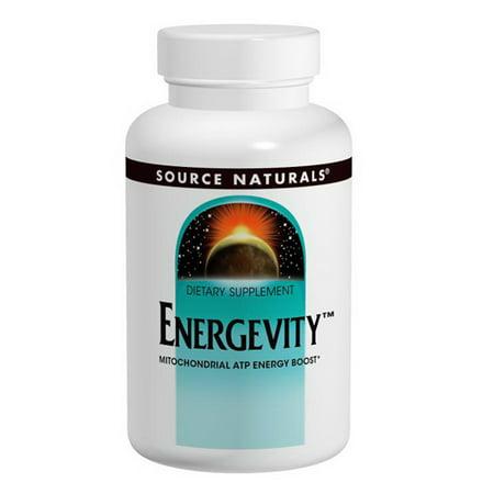 Source Naturals Energevity Mitochondrial ATP Energy Boost Tablets, 30 Ea (Mitochondrial Medicine)
