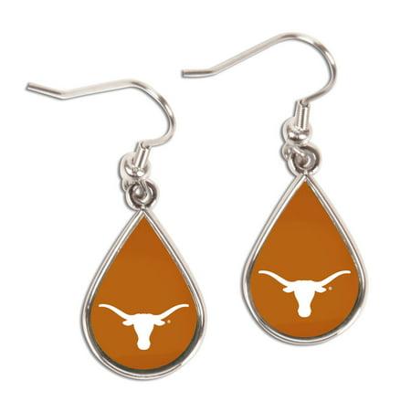 University Of Texas Tear Drop Earrings