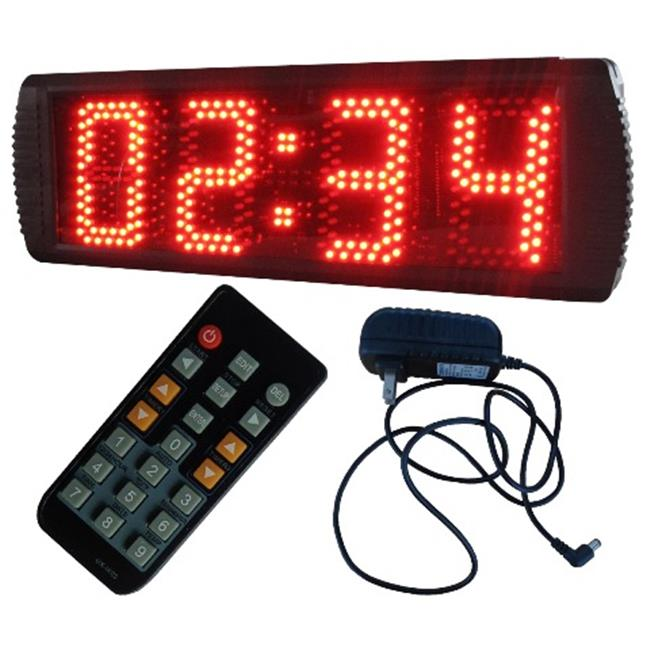 DLC S3D5R-S 5 in. 3 Digits Semi-Outdoor LED Seconds Count...