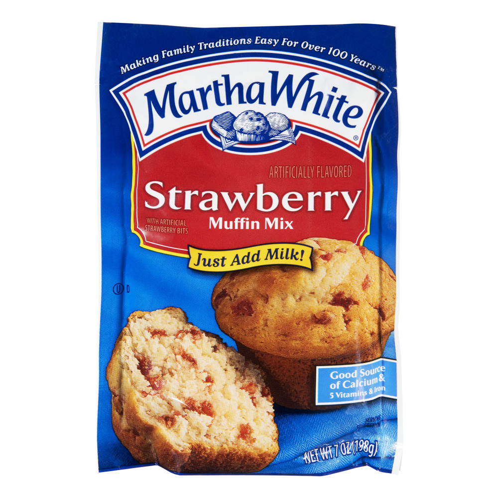 Martha White Strawberry Muffin Mix, 7.0 OZ