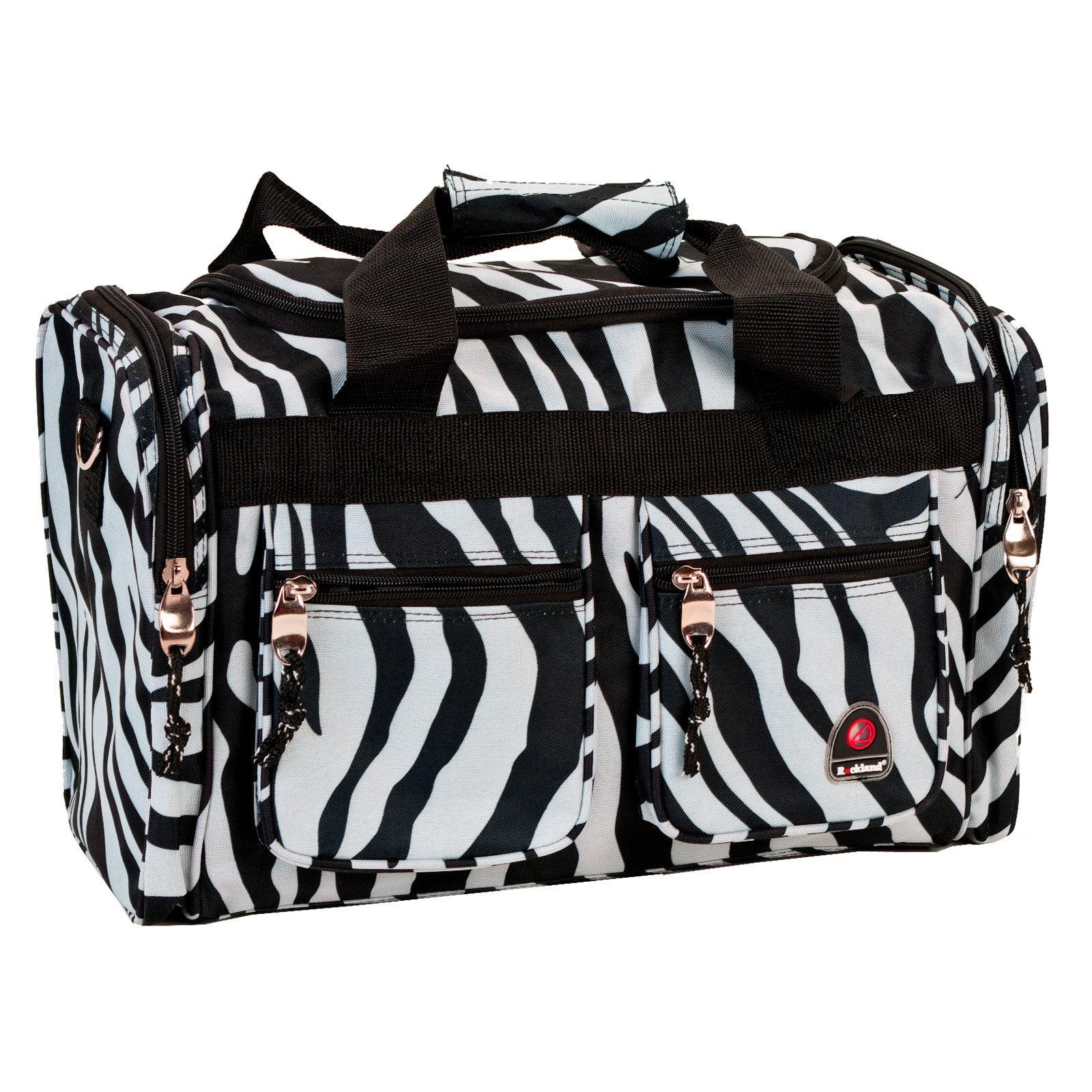 Rockland Luggage Zebra 19 in. Duffel Bag by Fox Luggage Inc