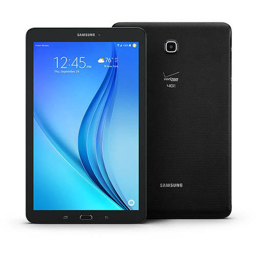 "Refurbished Samsung Galaxy Tab E with WiFi 9.6"" Tablet PC Featuring Android 5.1.1. (Lollipop) Operating System, Black"
