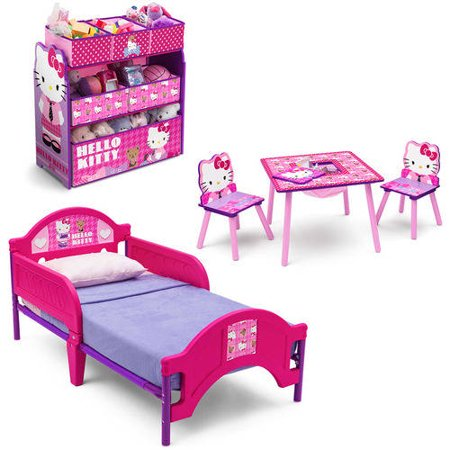 1f80b5d44 ... UPC 080213036409 product image for Hello Kitty Plastic Toddler Bed |  upcitemdb.com
