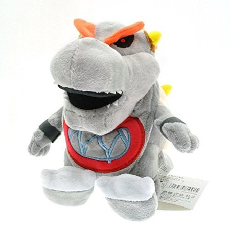 Super Mario Plush 7.2 Inch / 18cm gray Bowser Jr Doll Stuffed Animals Figure Soft Anime collection Toy - image 1 of 1