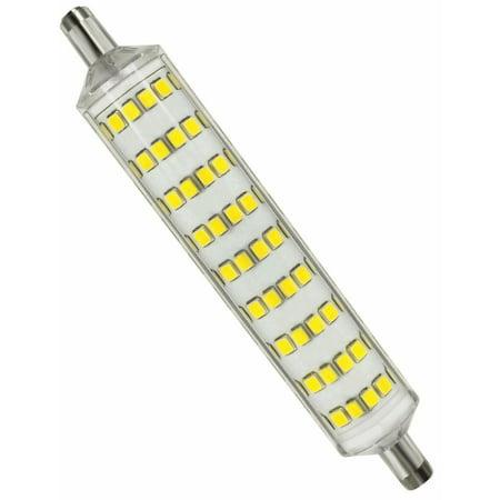 r7s base led bulb daylight 5000k 8w equiv 100w halogen. Black Bedroom Furniture Sets. Home Design Ideas