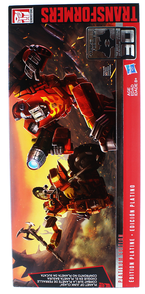 "Transformers Generations Platinum Edition ""Planet of Junk"" 3-Figure Set by Hasbro"