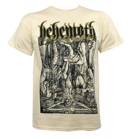 BEHEMOTH Lvcifer Lucifer Natural T-Shirt S M L XL XXL Black Metal NEW](Xxl Suits)