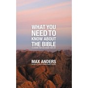 What You Need to Know about the Bible: 12 Lessons That Can Change Your Life (Paperback)