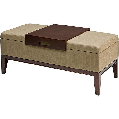 Pleasant Whalen Teagan Storage Ottoman Walmart Com Caraccident5 Cool Chair Designs And Ideas Caraccident5Info