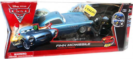Disney Cars Air Hogs R C Finn McMissile Remote Control Car [Missile Firing] by Disney