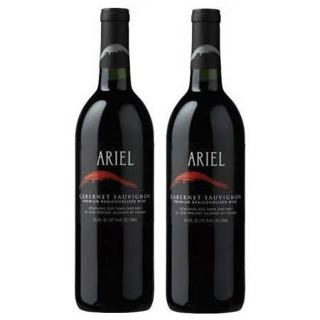 Ariel Cabernet Sauvignon Non-alcoholic Red Wine Two Pack Summer Breeze Red Wine