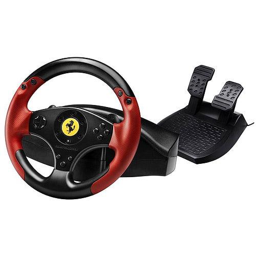 THRUSTMASTER 4060052 PlayStation(R)3/PC Red Legend Edition Ferrari(R) Racing Wheel