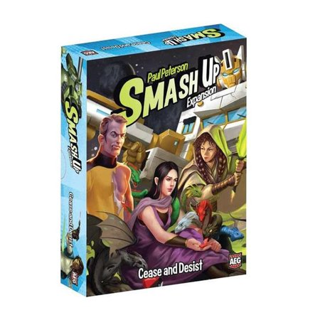 Aeg Magazine (Smash Up: Cease and Desist AEG Card Game Expansion Multi-Player Fun)