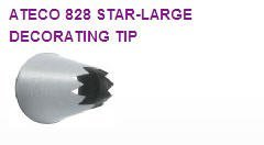 Large Star Cake / Cupcake Decorating Tip #828