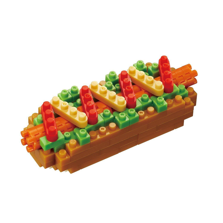 Hot Dog (Nanoblock) Building Set by Nanoblock (NBC218) by nanoblock