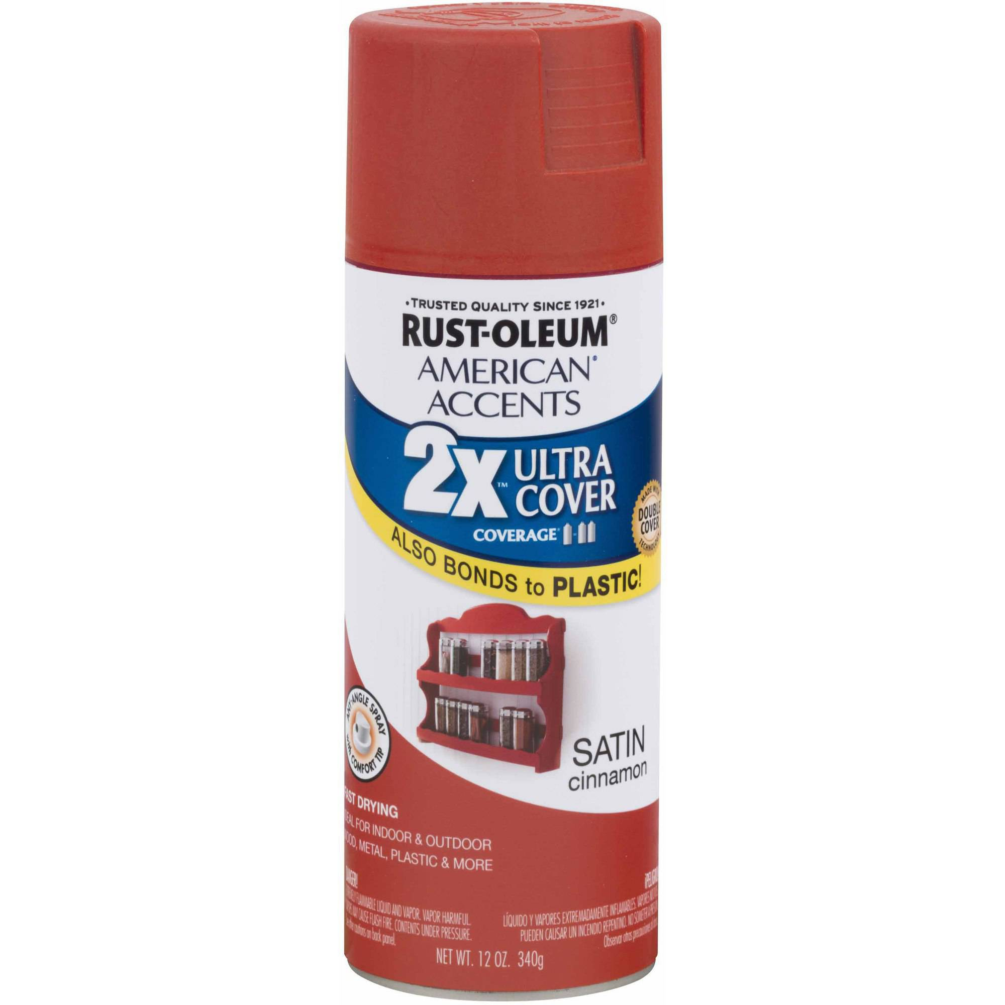 Rust-Oleum American Accents Ultra Cover 2x, Satin Cinnamon