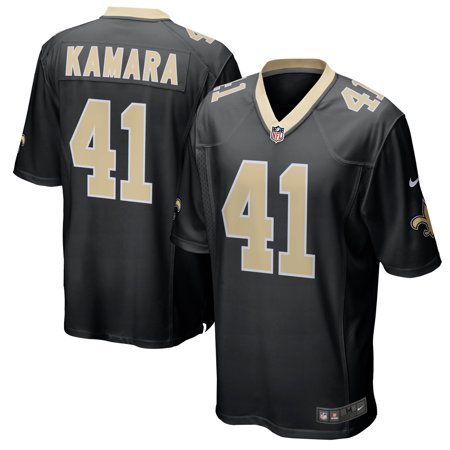 Alvin Kamara New Orleans Saints Nike Game Jersey - Black Black Game Day Football Jersey