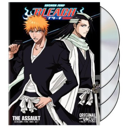 Bleach Uncut Box Set: Season 5 - The Assault (Full Frame)