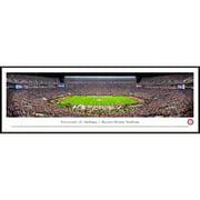 "Alabama Crimson Tide 40.25"" x 13.75"" Standard Framed Panoramic"