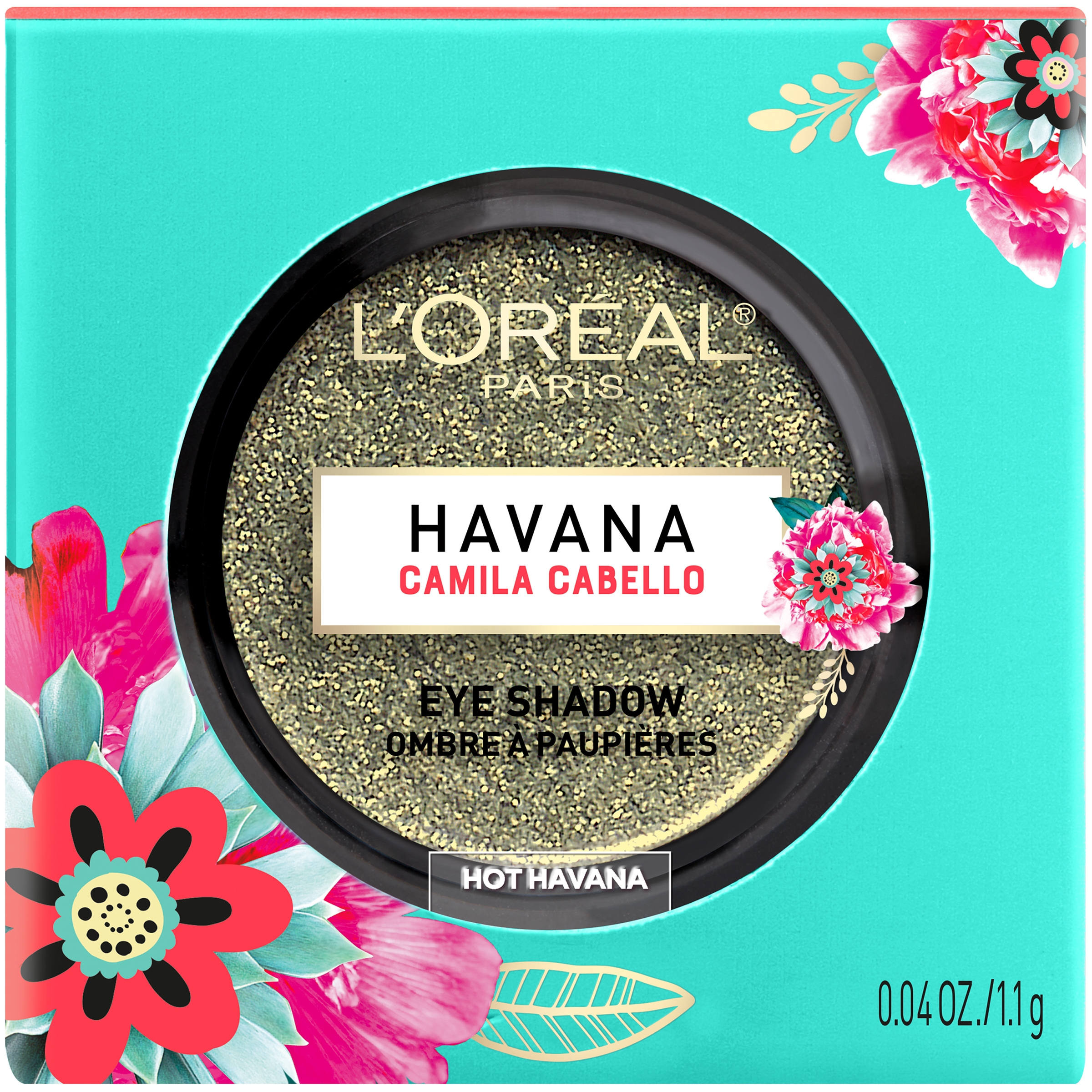 L'Oreal Paris X Camila Cabello Havana Eye Shadow, Hot Havana, 0.04 oz.