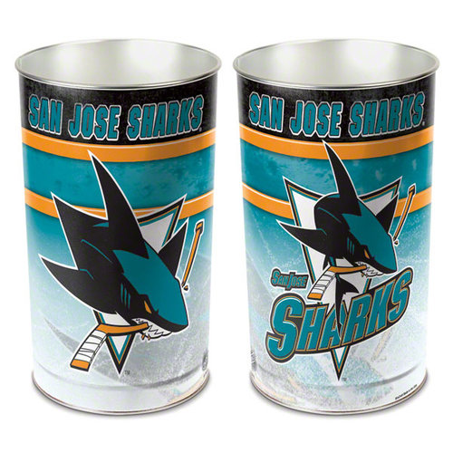 Wastebasket San Jose Sharks