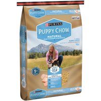 Pack of 2 Puppy Chow Natural with Farm-Raised Chicken Dry Puppy Food (15.5 lbs.)