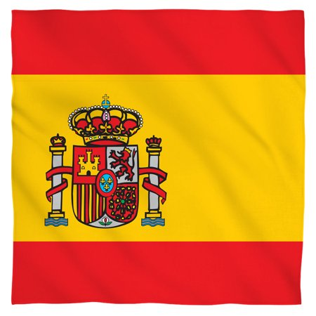Spain Flag Bandana (White, 22x22)](Spanish Flags)