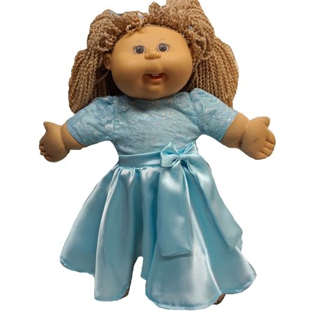 - Sweet and Pretty Party Dress For Cabbage Patch Kid Dolls