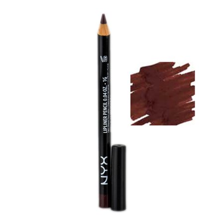 Nyx Slim Lip Liner Pencil  Color   832 Cola
