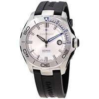 Davidoff Velocity Diver Automatic Silver Dial Black Rubber Men's Watch
