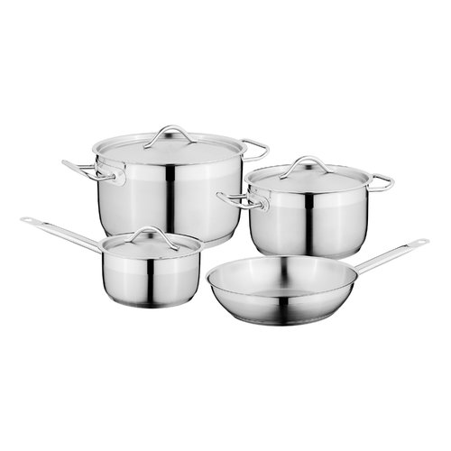 Berghoff Hotel 7pc 18 10 Stainless Steel Cookware Set by BergHOFF