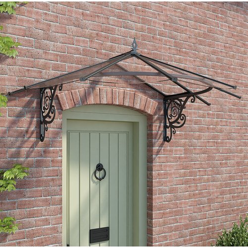 Palram Lily Victorian 6ft. x 4ft. Door Awning