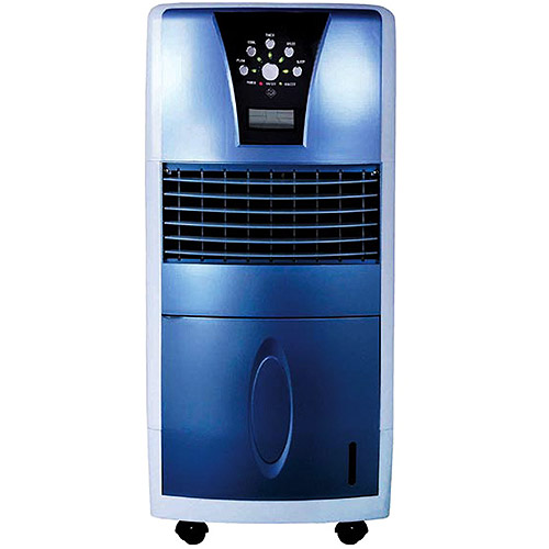 sunpentown evaporative air cooler with led sf613