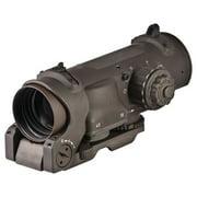 Elcan SpecterDR 1x/4x Optical Sight, 7.62mm, CX5396 Illum Crosshair Reticle, Fla