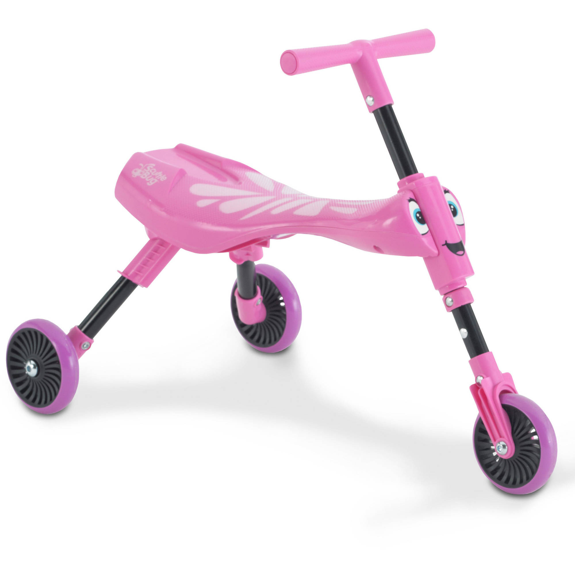 Mookie ScuttleBug Butterfly 3-Wheel Foldable Ride-On