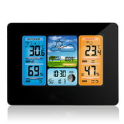 Best Barometers - Wireless Weather Station with Color HD Display, LCD Review