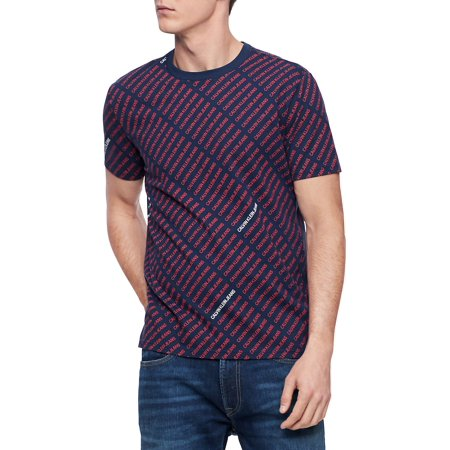 Striped All-Over T-Shirt