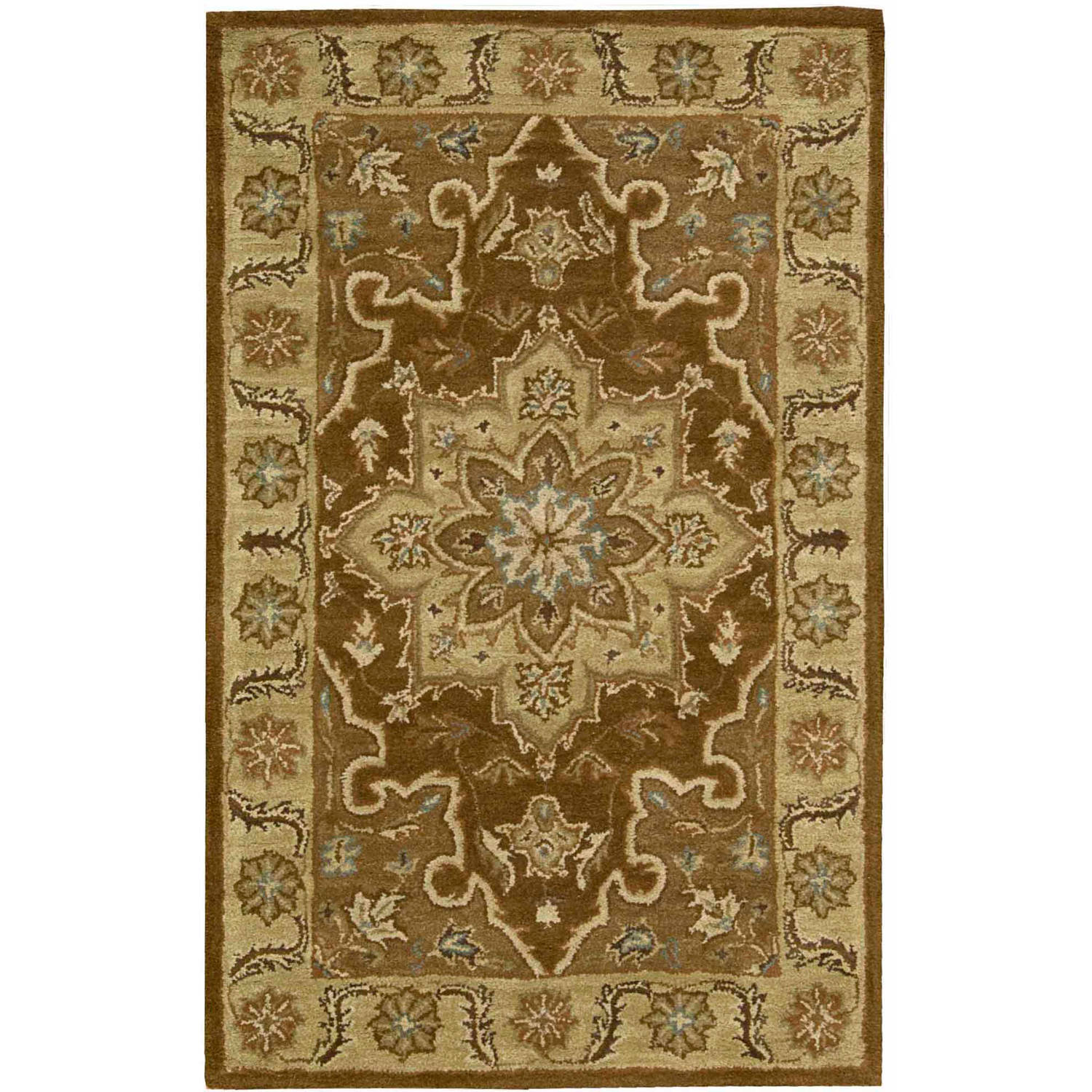 Nourison India House Classic Traditional Floral Area Rug