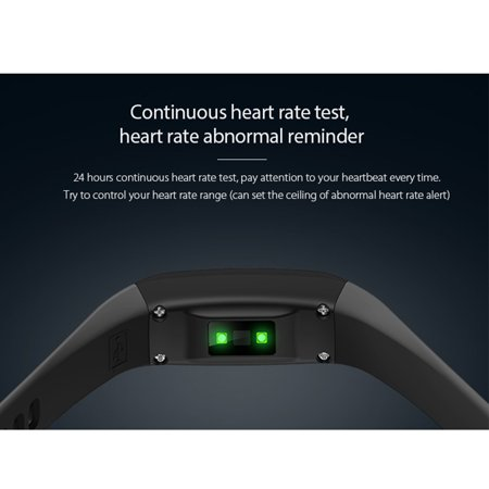 Fitness Tracker with Heart Rate Monitor Waterproof Blood Oxygen Monitor OLED Touch Screen for Women Men Kids - image 6 de 14