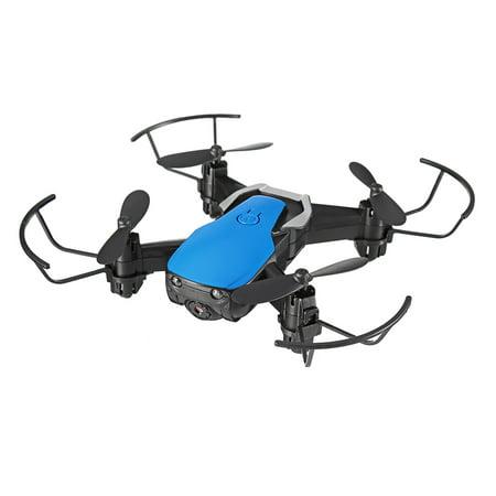 Eachine E61hw Mini Drone 6-axis 4CH 2.4G 0.3MP HD Camera w/3 Batteries High Hold Mode RC Quadcopter RTF WiFi FPV Foldable RC Drone Birthday