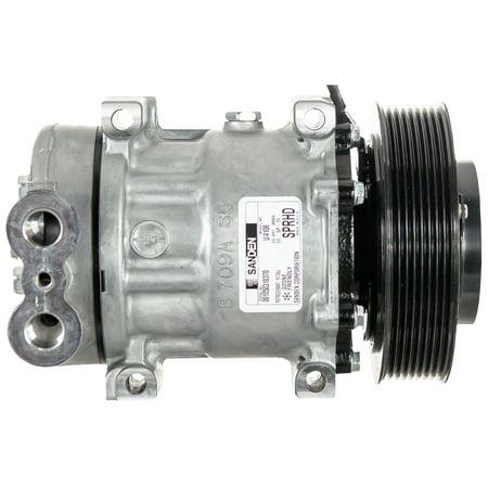 Sanden Compressor 5398 for Freightliner Trucks Replaces AC Condenser - Freightliner A/c