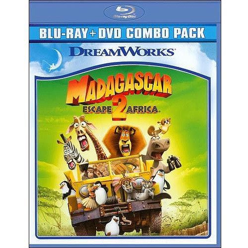 Madagascar: Escape 2 Africa (Blu-ray   DVD) (Widescreen)