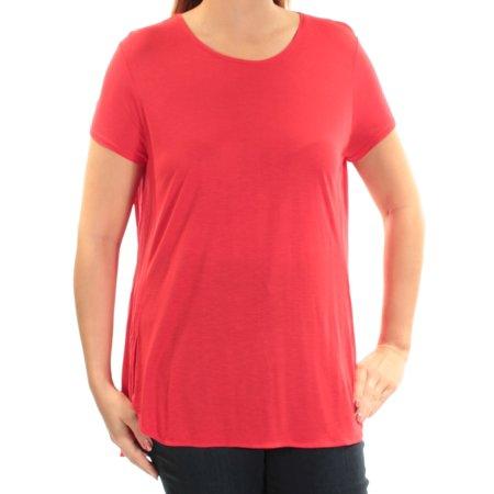 Ralph Lauren Womens Red Short Sleeve Scoop Neck Top  Size: - Ralph Lauren Red Shirt