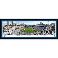 "GA Tech Yellow Jackets 42"" x 15.5"" End Zone Select Frame Panoramic Photo"