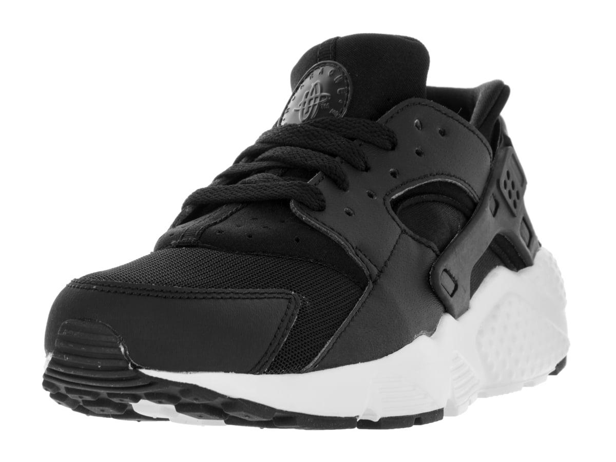 Nike - nike huarache run big kids style: 654275-011 size: 6.5 y us black/white - Walmart.com