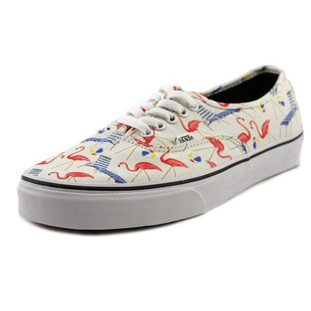 Vans Authentic Pool Vibes/Classic White Ankle-High Canvas Skateboarding Shoe - 11M / (Dries Van Noten Men Sale)