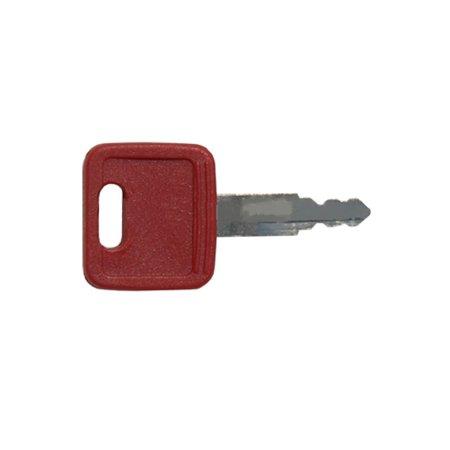 H800R Red Key for John Deere Excavator Case IH Fiat Hitachi NH AT147803 AT194969