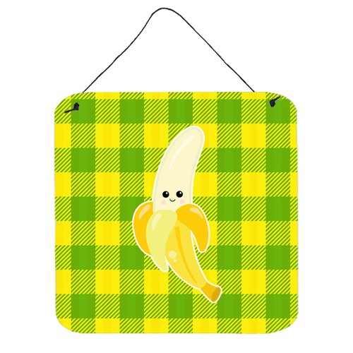 East Urban Home Banana Face Gloss Wall D cor