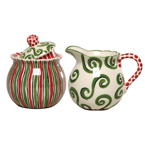 Thompson and Elm M.Bagwell 2 Piece Sugar and Creamer Set